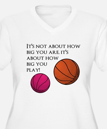 How Big You Are Plus Size T-Shirt