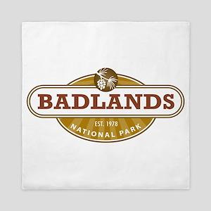 Badlands National Park Queen Duvet