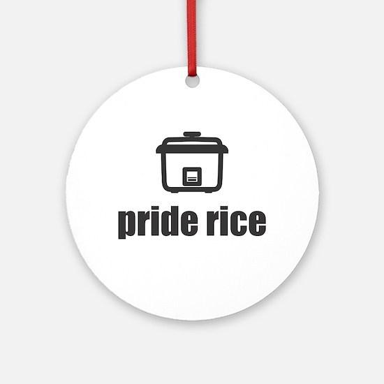 """Pride Rice"" [Light] Ornament (Round)"