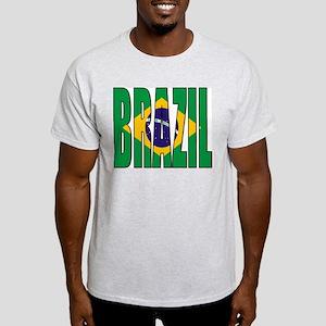 Brazil / Brasil Ash Grey T-Shirt