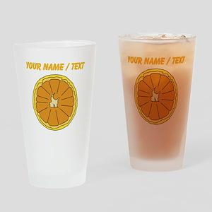 Custom Grapefruit Drinking Glass