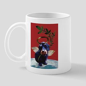 Wirehaired Dachshund Peace Mug
