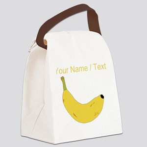 Custom Banana Canvas Lunch Bag