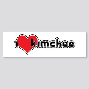 """I Love Kimchee"" Bumper Sticker"