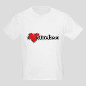 """I Love Kimchee""  Kids T-Shirt"