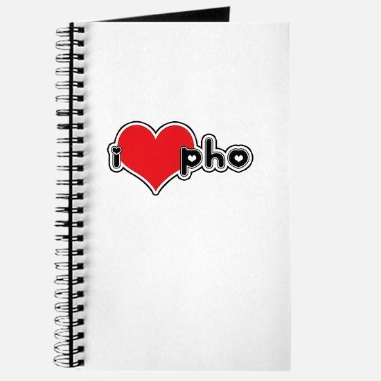 """""""I Love Pho"""" Journal"""