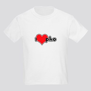 """I Love Pho"" Kids T-Shirt"