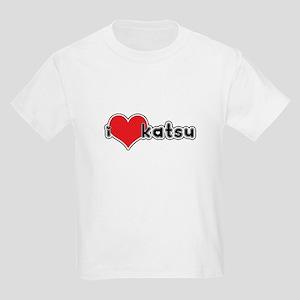 """""""I Love Katsu""""  Kids T-Shirt"""