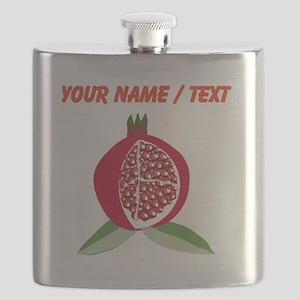 Custom Pomegranate Flask