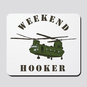 Weekend Hooker Mousepad