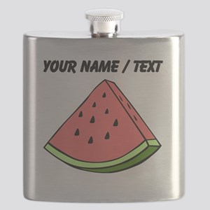 Custom Watermelon Slice Flask