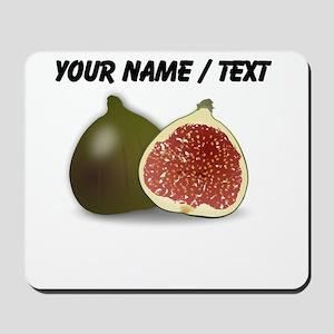 Custom Fig Fruit Mousepad