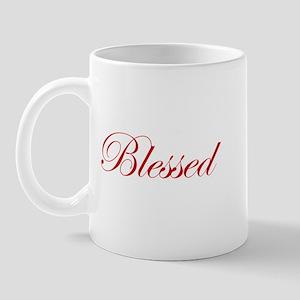 Red Blessed Mug