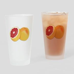 Grapefruit Drinking Glass