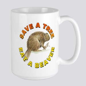 Save a Tree Environment Large Mug