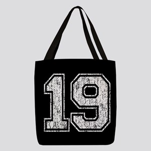 Retro Style 19 Polyester Tote Bag