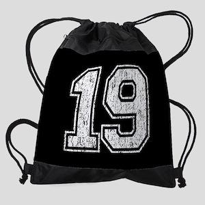 Retro Style 19 Drawstring Bag