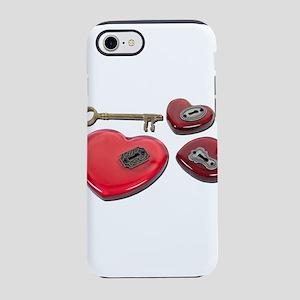 WhichHeartUnlock071611 iPhone 7 Tough Case