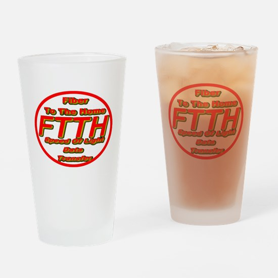 FTTH (Fiber to the Home) Drinking Glass