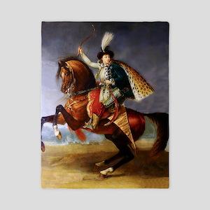 Noble Horseman Twin Duvet