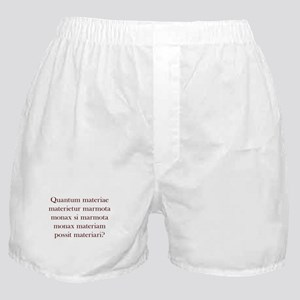 Latin Woodchuck Boxer Shorts