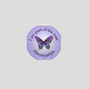 Fibromyalgia Awareness Mini Button