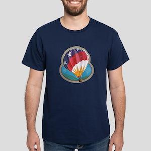 Hot Air Balloon Crew Dark T-Shirt