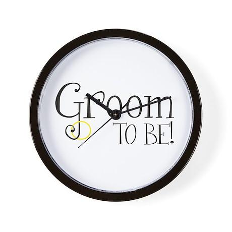 Groom To Be Wall Clock