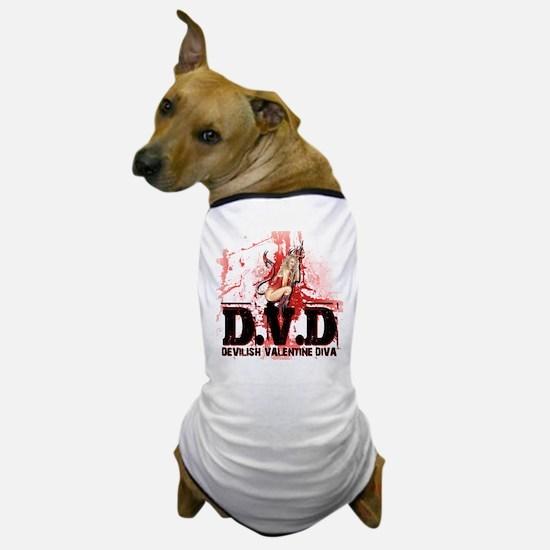 Devilish Valentine Diva Dog T-Shirt
