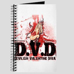 Devilish Valentine Diva Journal