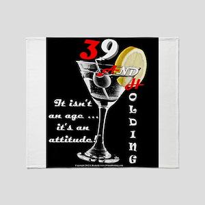 39+ with Attitude! Throw Blanket