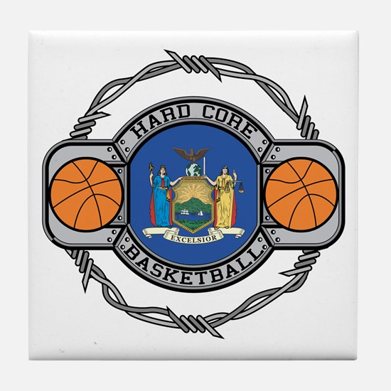 New York Basketball Tile Coaster