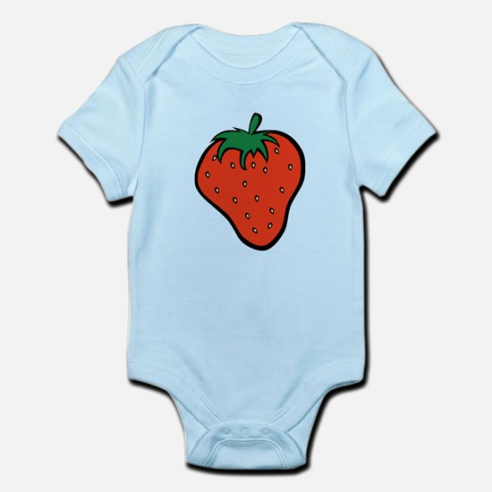Red Strawberry Body Suit