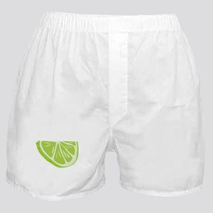 Lime Slice Boxer Shorts