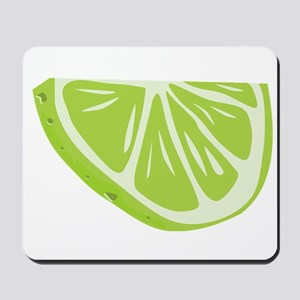 Lime Slice Mousepad