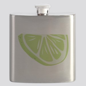 Lime Slice Flask