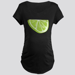 Lime Slice Maternity T-Shirt