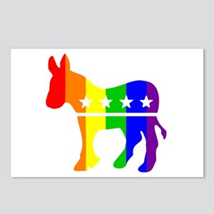 Democratic Pride Postcards (Package of 8)
