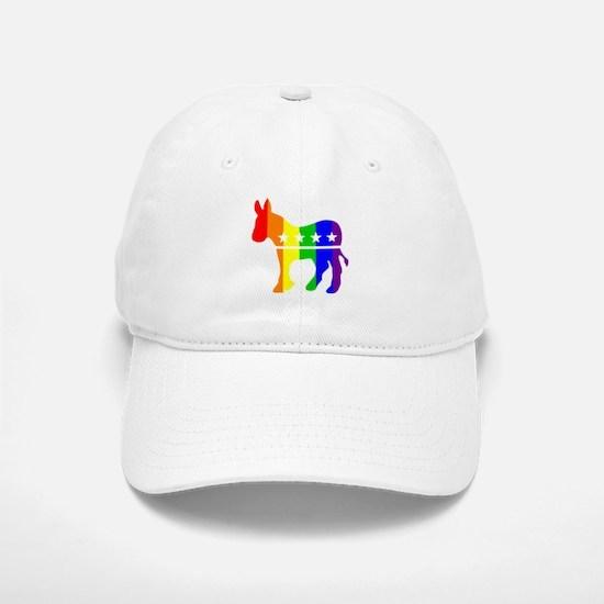Democratic Pride Baseball Baseball Cap
