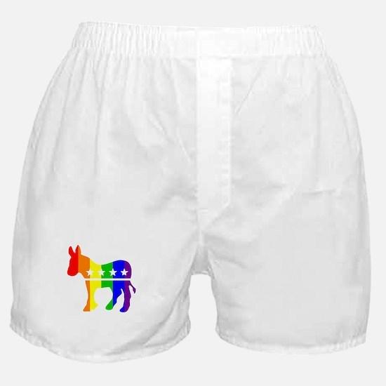 Democratic Pride Boxer Shorts
