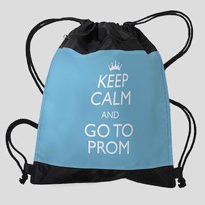 Keep Calm Prom Drawstring Bag