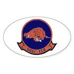 VAW 114 Hormel Hogs Oval Sticker