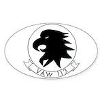 VAW 113 Black Eagles Oval Sticker