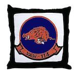 VAW 114 Hormel Hogs Throw Pillow
