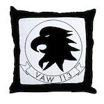 VAW 113 Black Eagles Throw Pillow