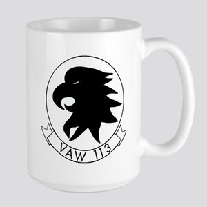 VAW 113 Black Eagles Large Mug