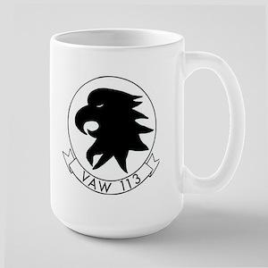 VAW 113 Black Eagles Large Mug