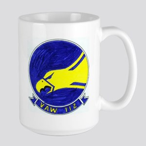 VAW 112 Golden Hawks Large Mug