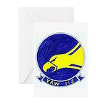 VAW 112 Golden Hawks Greeting Cards (Pk of 10)