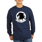 VAW 113 Black Eagles Long Sleeve Dark T-Shirt